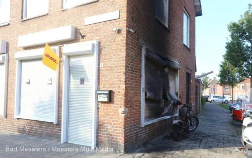 Motorbrand Cypresstraat Den Bosch 3