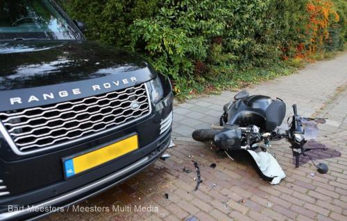 Ongeval voertuig justitie Vught 2