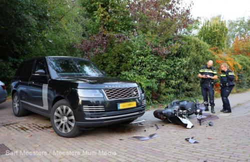 Ongeval voertuig justitie Vught 3