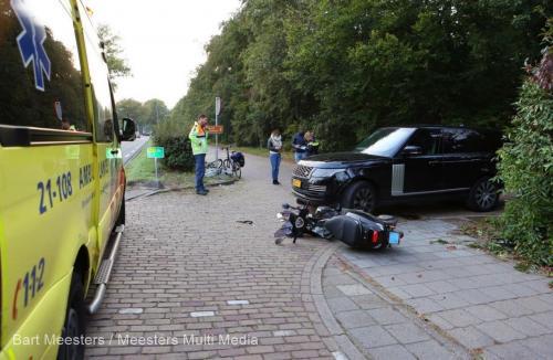 Ongeval voertuig justitie Vught 5