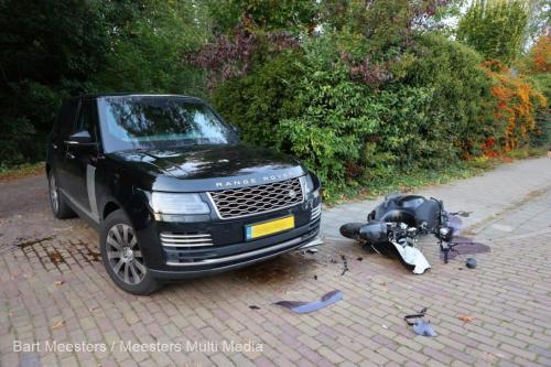 Ongeval voertuig justitie Vught 6
