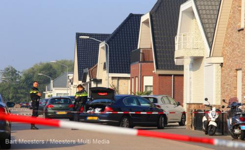 Politieactie Sleutelbloemstraat Den Bosch 1