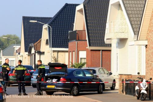 Politieactie Sleutelbloemstraat Den Bosch 2
